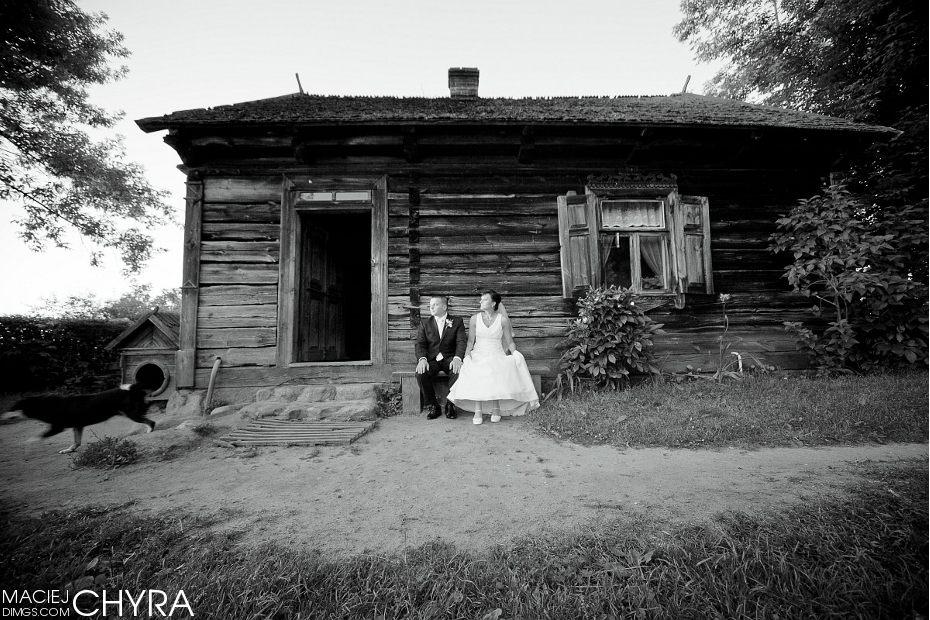 Skansen, przed Chatą. Fot. Maciej Chyra Jelenia Góra