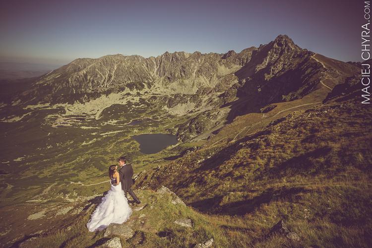 Sesja ślubna w Tatrach fot. Maciej Chyra www.maciejchyra.com